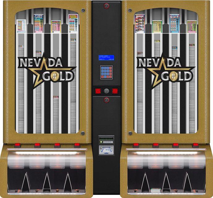 Nevada Gold II 8col BINGO EQUIPMENT/Pull Tab Dispensers/Nevada Gold II