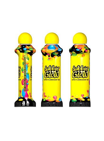 Fluorescent Bingo Ink Yellow Bingo Ink/Dabbin' Glow