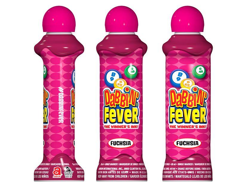 Dabbin' Fever Fuchsia Bingo Ink/Dabbin' Fever