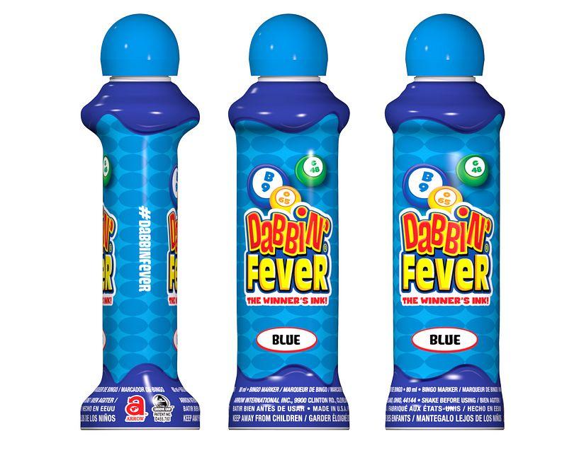 Dabbin' Fever Blue Bingo Ink/Dabbin' Fever