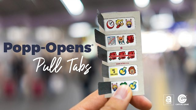 Popp-Opens Pull Tabs Bingo Equipment/Flashboards/MaxFlash>Promotional Materials/Advertisements