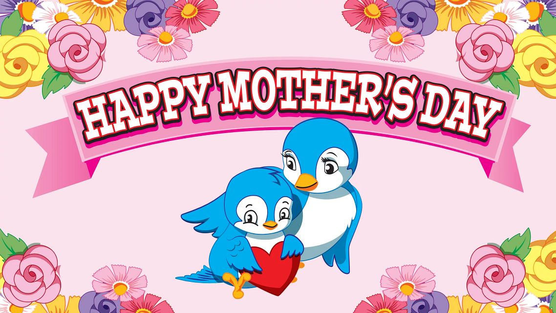 Mothers Day Birds Bingo Equipment/Flashboards/MaxFlash>Promotional Materials/Advertisements
