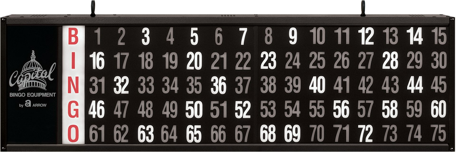 Access Numbers Only BINGO EQUIPMENT/Flashboards
