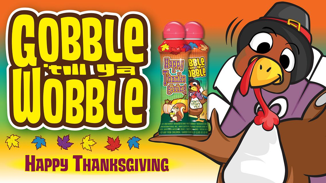 Thanksgiving Ink Gobble Maxflash Ad Bingo Equipment/Flashboards/MaxFlash>Promotional Materials/Advertisements
