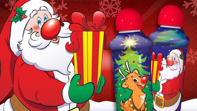 Christmas Ink Santa Bingo Equipment/Flashboards/MaxFlash>Promotional Materials/Advertisements