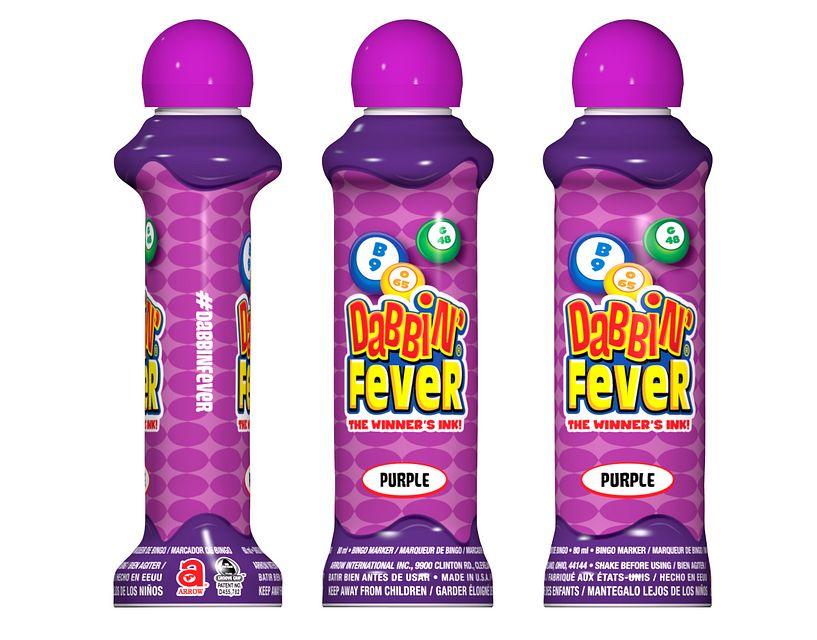 Dabbin' Fever Purple Bingo Ink/Dabbin' Fever
