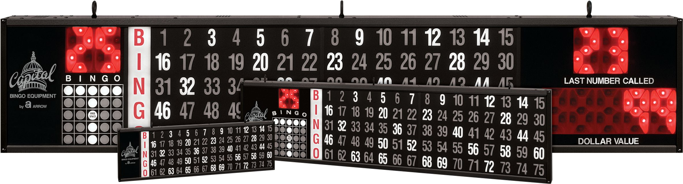 Flashboards All Sizes BINGO EQUIPMENT/Flashboards
