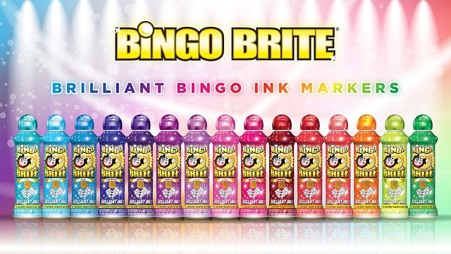 Bingo Brite Promotional Materials/Ink Graphics/Advertisements