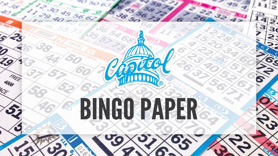 Capitol Bingo Paper Bingo Equipment/Flashboards/MaxFlash>Promotional Materials/Advertisements