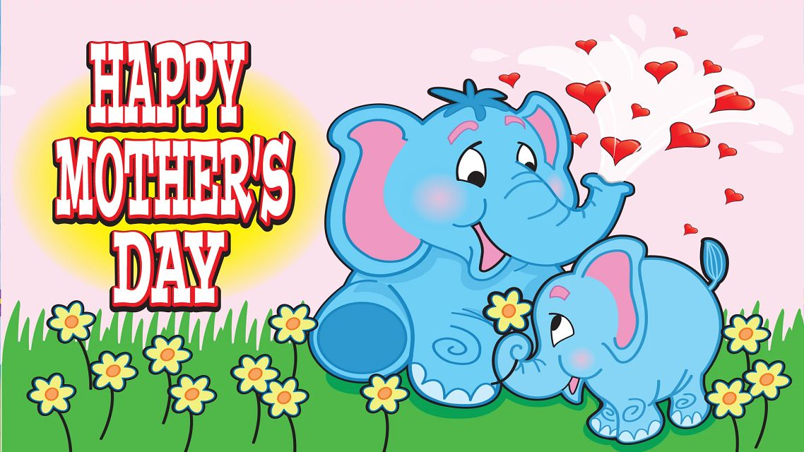 Mothers Day Elephant Bingo Equipment/Flashboards/MaxFlash>Promotional Materials/Advertisements