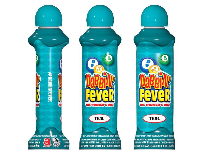 Dabbin' Fever Teal Bingo Ink/Dabbin' Fever