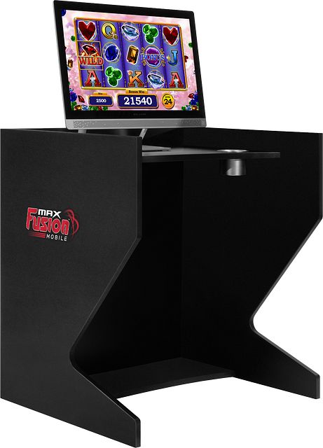 Gaming Booth Left Angle BINGO EQUIPMENT/MaxFusion/Gaming Booth
