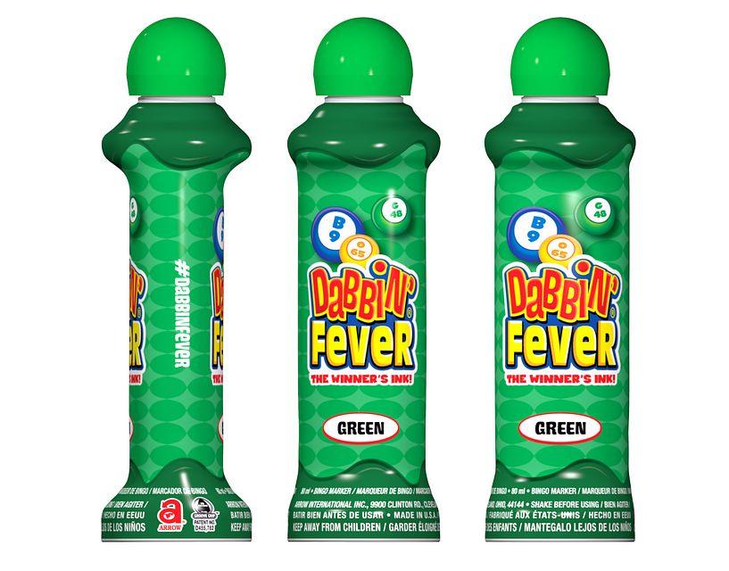 Dabbin' Fever Green Bingo Ink/Dabbin' Fever