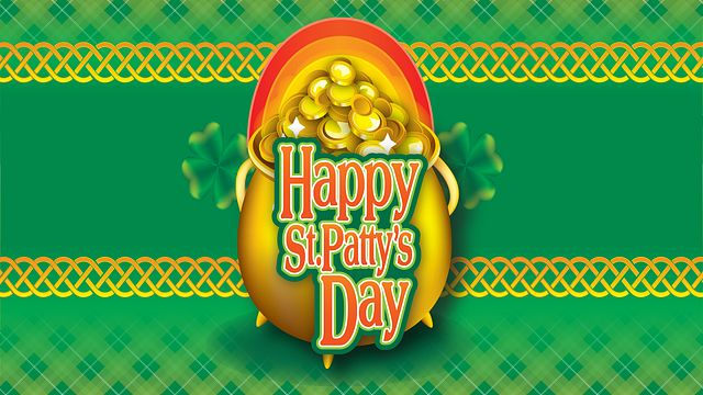 St Patricks Day Gold Bingo Equipment/Flashboards/MaxFlash>Promotional Materials/Advertisements