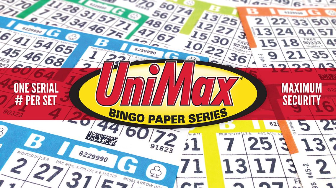 Unimax Bingo Paper One Serial Bingo Equipment/Flashboards/MaxFlash>Promotional Materials/Advertisements