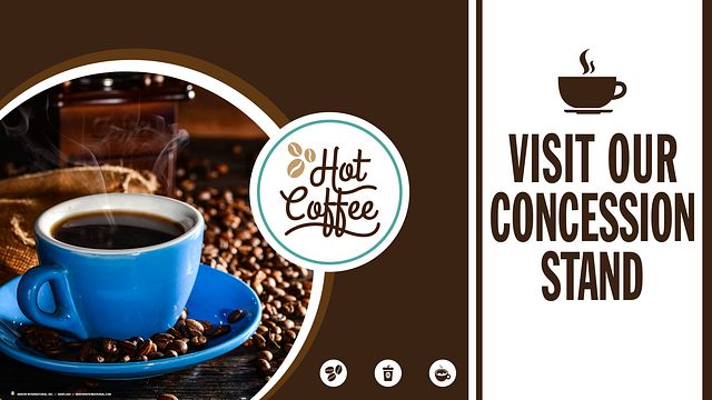 Coffee Maxflash Bingo Equipment/Flashboards/MaxFlash>Promotional Materials/Advertisements