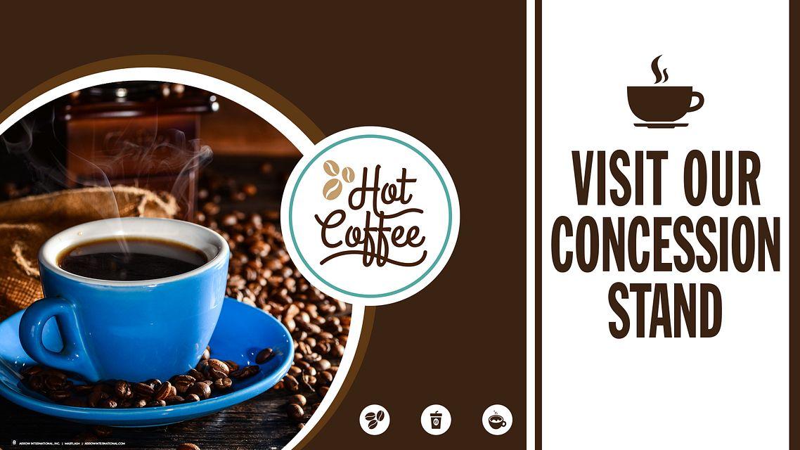 Coffee Maxflash AD Bingo Equipment/Flashboards/MaxFlash>Promotional Materials/Advertisements
