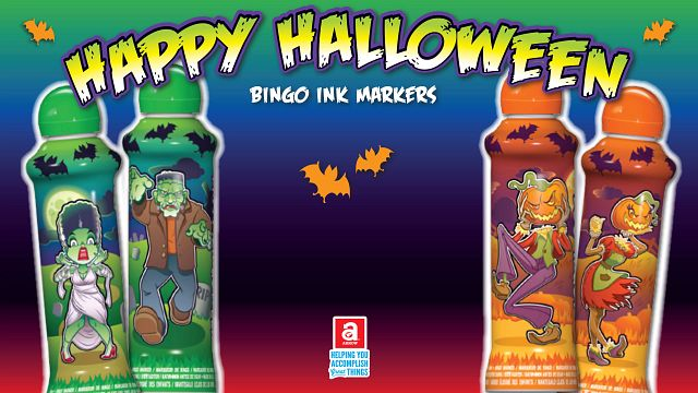 Halloween Ink Bingo Equipment/Flashboards/MaxFlash>Promotional Materials/Advertisements