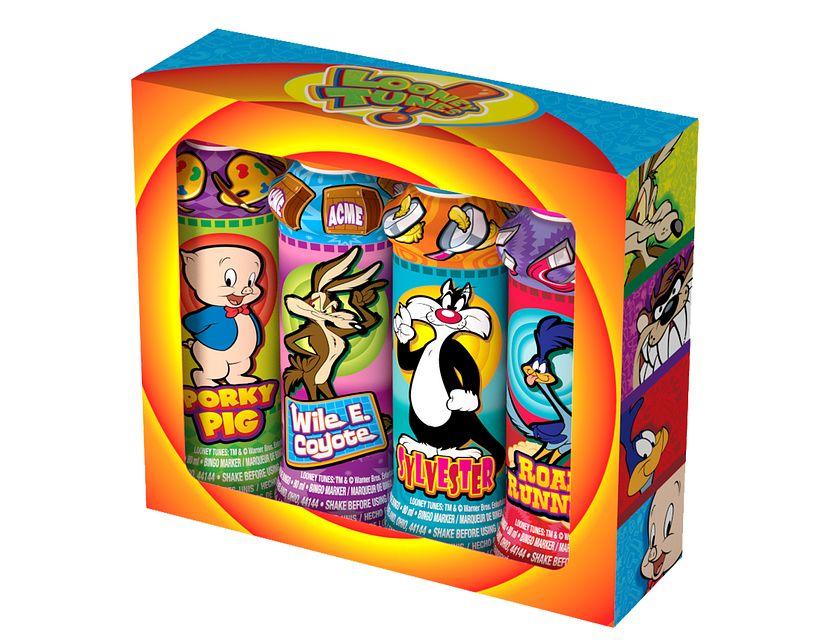 Gift Set Looney Tunes Bingo Ink/Licensed