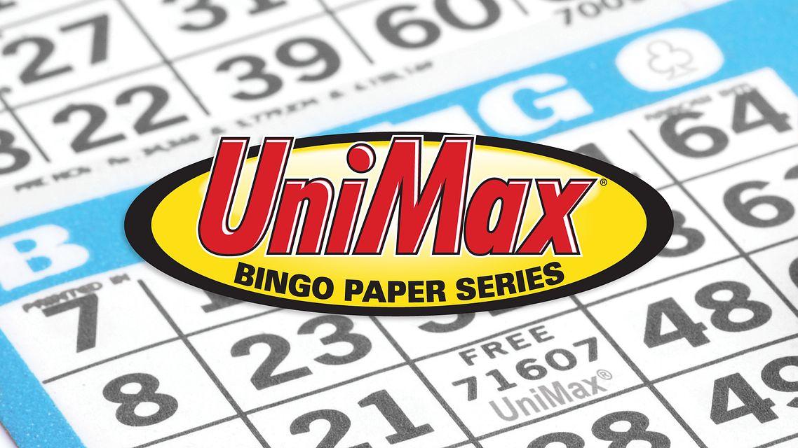 Unimax Bingo Paper Face Bingo Equipment/Flashboards/MaxFlash>Promotional Materials/Advertisements