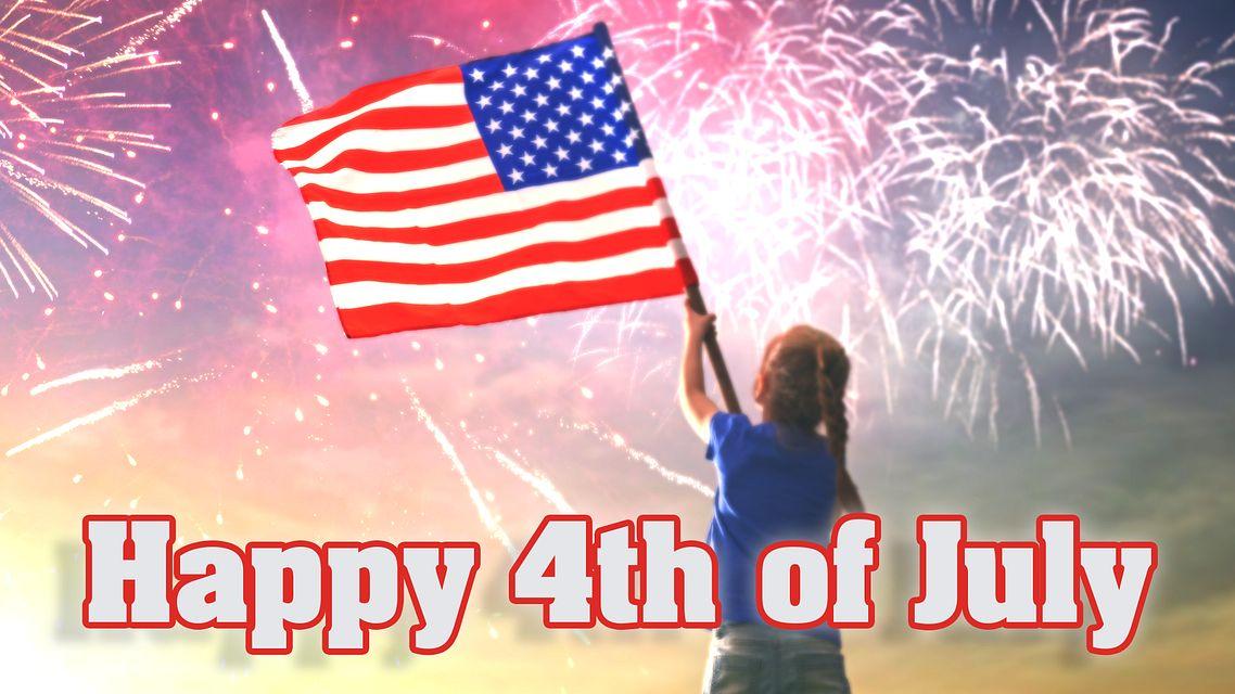 Happy 4th of July MaxFlash Bingo Equipment/Flashboards/MaxFlash>Promotional Materials/Advertisements