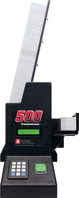 PrecisionCounter 500 front BINGO EQUIPMENT/Precision Counter