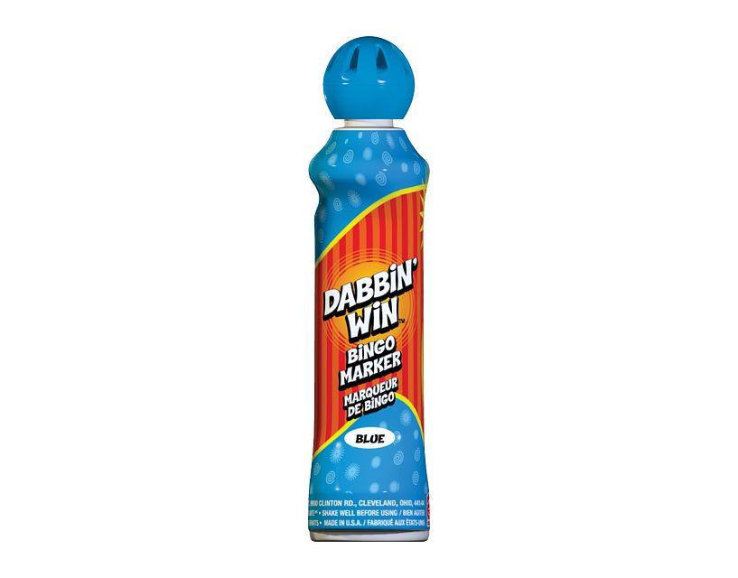 Dabbin' Win Blue Bingo Ink/Dabbin' Win