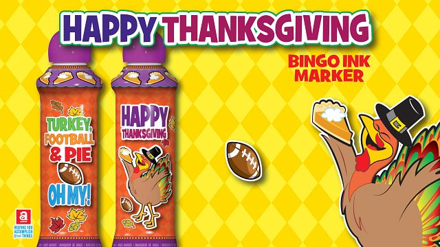 Thanksgiving Ink Bingo Equipment/Flashboards/MaxFlash>Promotional Materials/Advertisements