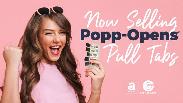 Popp-Opens Bingo Equipment/Flashboards/MaxFlash>Promotional Materials/Advertisements