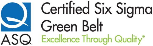 ASQ Six Sigma Green Belt