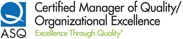 ASQ Manager of Quality and Organizational Excellence