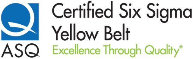 Six sigma yellow belt certification study material