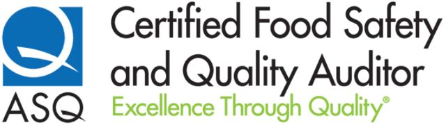 ASQ Food Safety and Quality Auditor