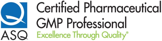 ASQ Pharmaceutical GMP Professional