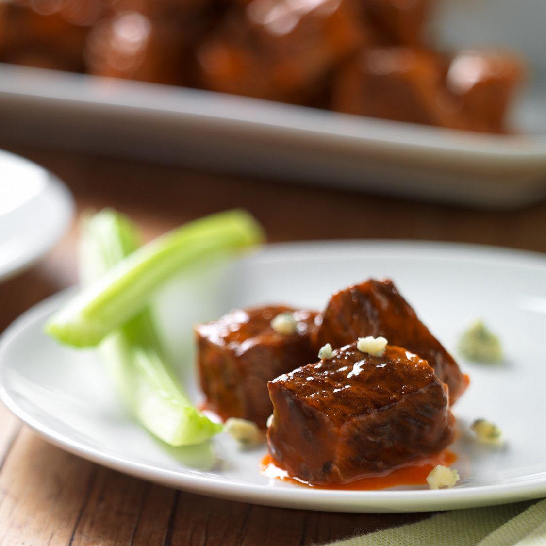 Buffalo-Style Beef Bites