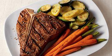 T-Bones with Sweet & Savory Steak Sauce