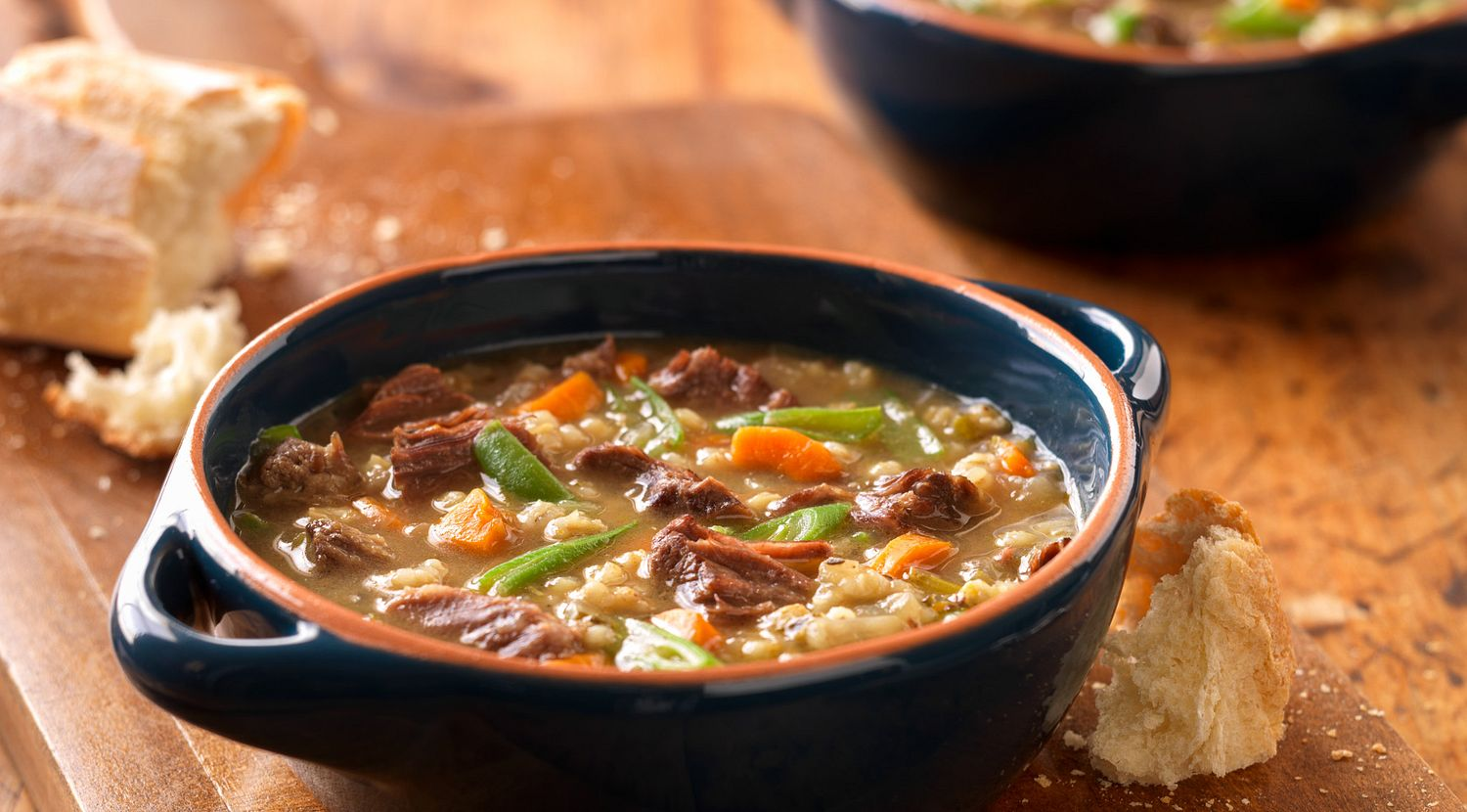 Classic Beef and Barley Soup