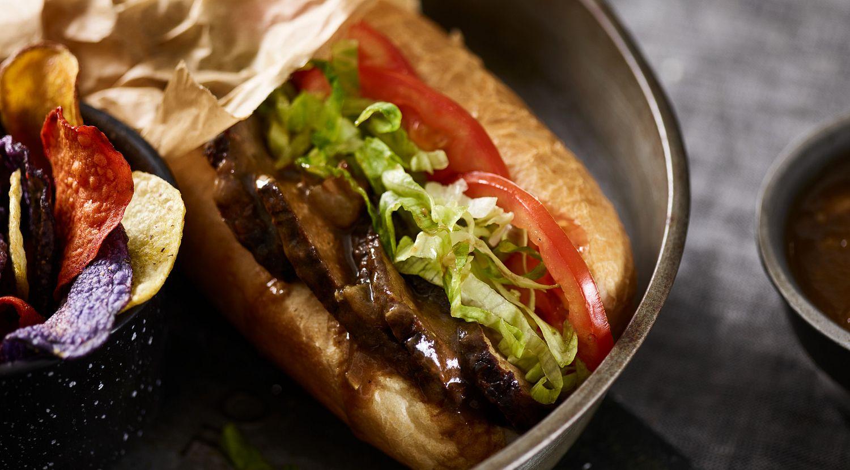Cajun Beef Po'boy Sandwiches with Red Eye Gravy