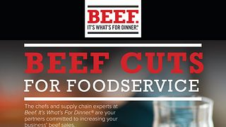 Beef Cuts For Foodservice