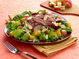 Harvest steak and Quinoa Salad