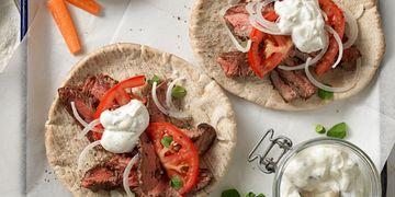Beef Steak Gyros