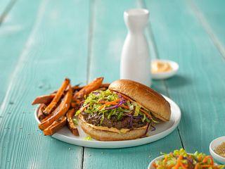 East Meets West Burgers