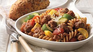 Beef & Pasta Skillet Primavera