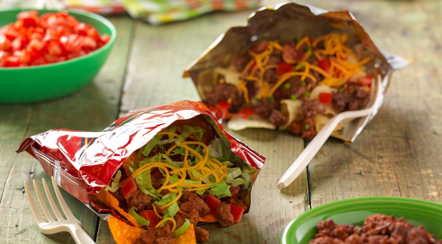 On-the-Go Beef Tacos