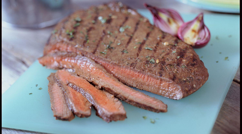 Three-Way Marinated Flank Steak