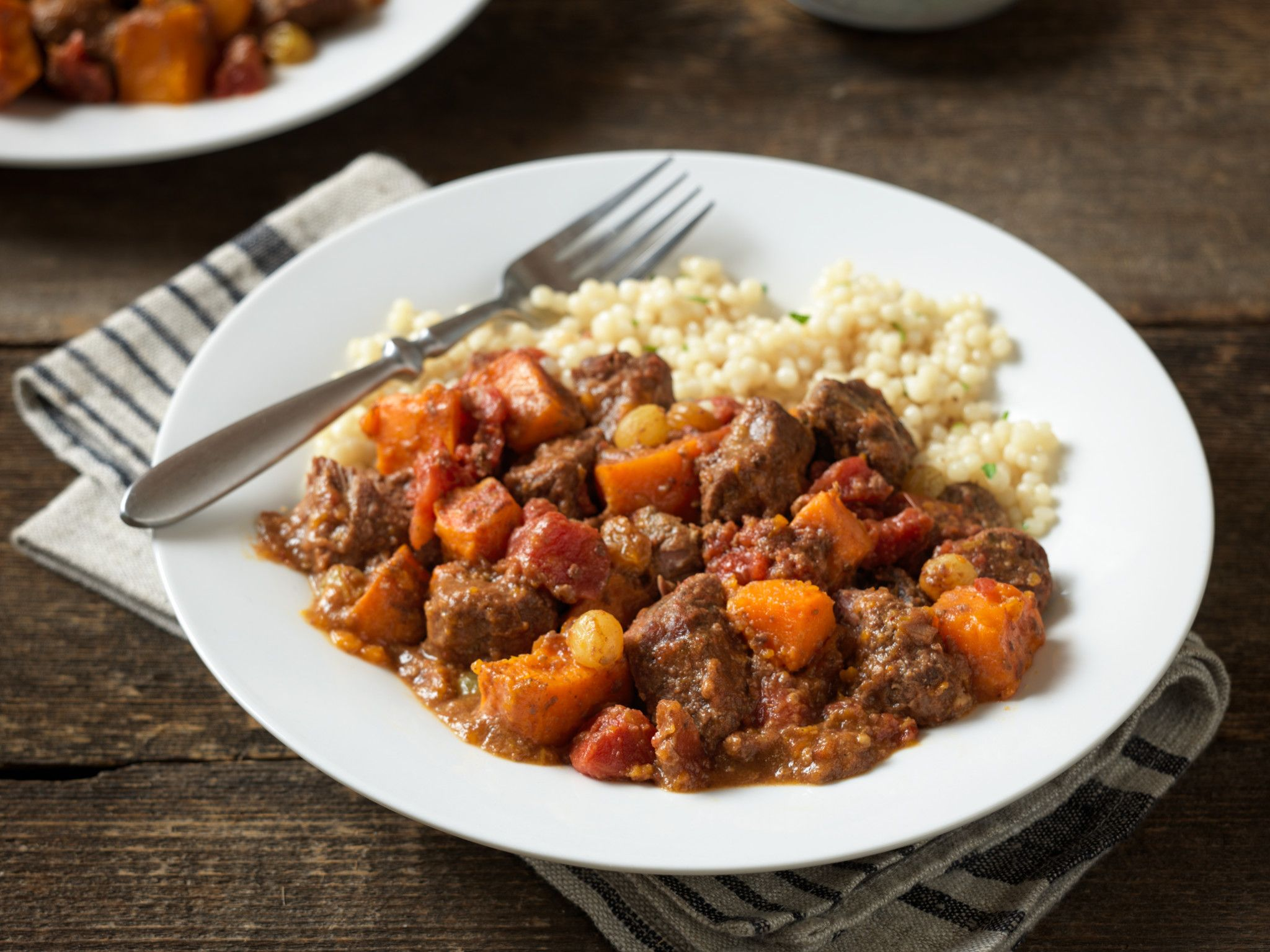 Moroccan Beef and Sweet Potato Stew