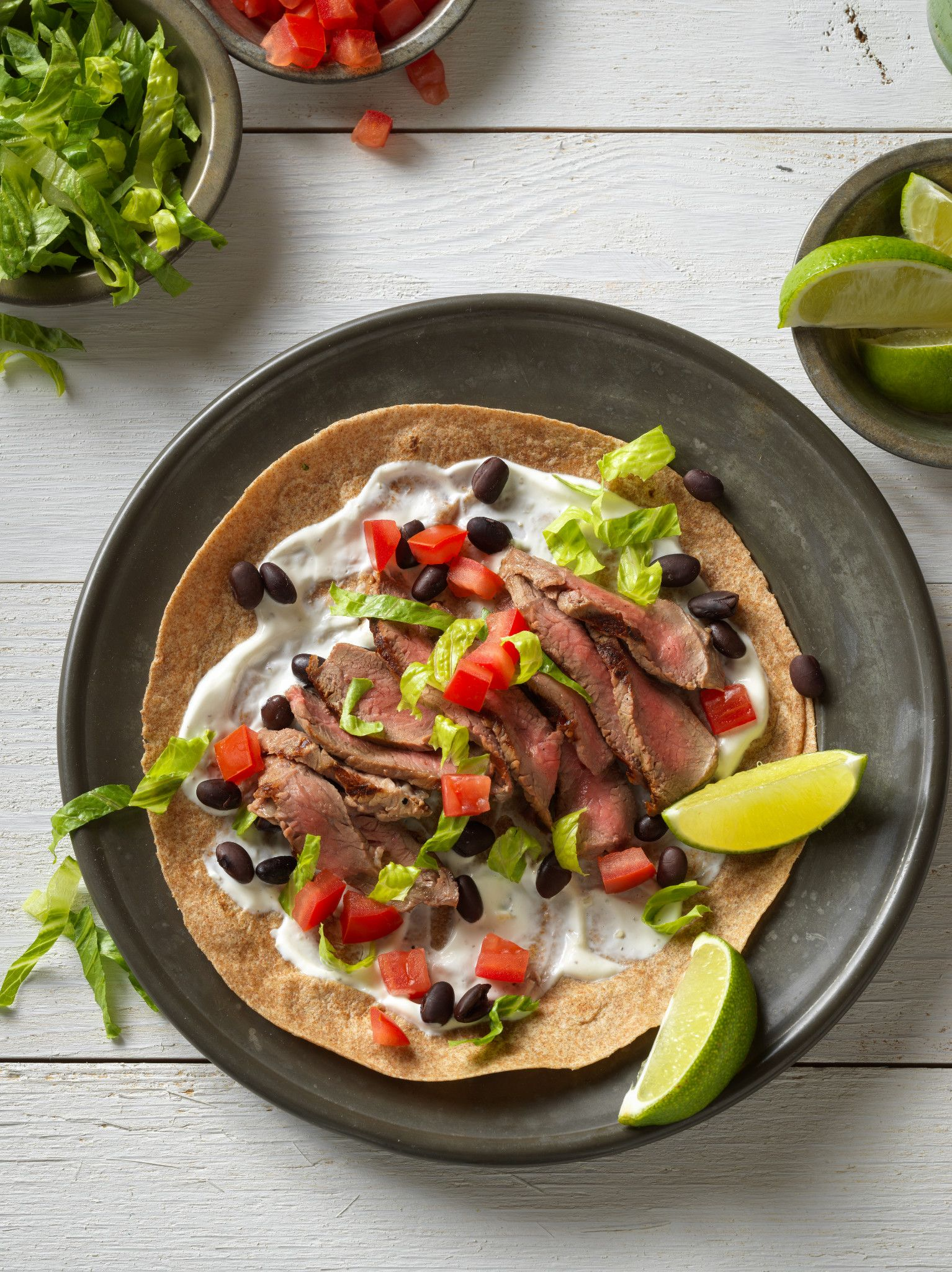 Mexican Steak Soft Tacos