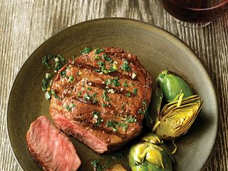 Chimichuri-Marinated Beef Steaks