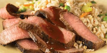 Asian Barbecue Steaks
