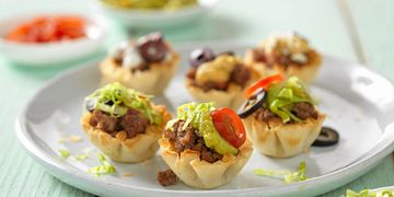 Tiny Tace Beef Tarts